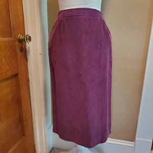 🦕3/$10 Vintage Corduroy Pencil Skirt